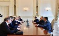 Prezident Andre Reyşarın başçılıq etdiyi nümayəndə heyətini qəbul etdi