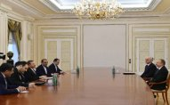 İlham Əliyev İranın nazirini qəbul etdi