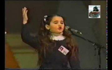 Guney Azerbaycan qızı - Ana dilim, turk dili - (Video)